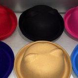 Хит продаж шляпка фетр с ушками есть Опт скидка при покупке 2хшт