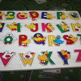 Большая рамка-вкладыш алфавит