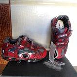 Новые фирменные кроссовки Geox sport с мигалками р. 21, по стельке 13,5 см.