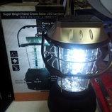 лампа на акамуляторе и на солнечной батареи