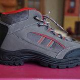 Ботинки демисезонные серые для мальчика новые р. 35, 36, 37