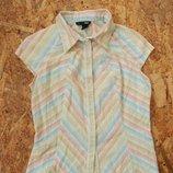 рубашка H&M, р-р S, блузка, блуза, майка, маечка, футболка
