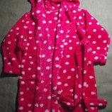 новый халат на 6-7 лет теплый махровый халат с капюшоном