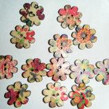 Пуговицы цветок цветы 20 мм