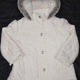 M&S Autograph Куртка теплая с капюшоном на 2-3 года р. 92-98