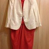 Платье пиджак Нарядное 54-56размера