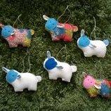 Овечки, овечка игрушка барашек ручной работы 2