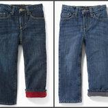 Теплые джинсы на флисе OLD NAVY для мальчиков