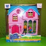 Домик для кукол кукольный домик Дача