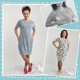 Акция Повседневное платье из трикотажа для беременных и кормление