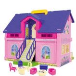 купить недорого домик для кукол Wader Вадер 25400