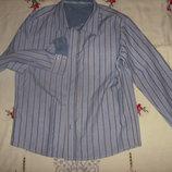 Рубашка Marks & Spencer c длинным рукавом