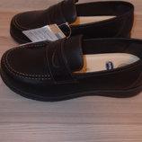 Кожаные туфли 28 размер chicco
