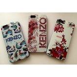 Силиконовые чехлы Кензо Kenzo для iPhone 4 и iPhone 4s