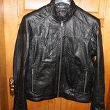 Шкіряна куртка німецького бренду Manguun