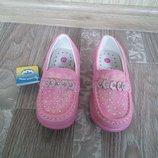 Мокасины на девочку фирмы Мхм, размер 21. Распродажа
