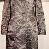 Плащ-пальто коричневый