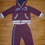Теплый спортивный костюм Chicco 74р