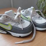 кроссовки кеди мокасины детские найк Nike кожаные 12 см