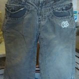 Вельветовые штаны коричневые утепленные Baby Barb 86 см. 100%котон