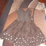 Платье-Сарафан лен летнее