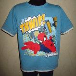 Классная футболка Spider Man от Marks&Spencer мальчику на 6-7 лет