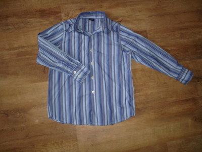 Фирменные рубашки Next на 8-9 лет с длинным рукавом