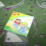Книжечка-раскладушка Лего для деток от 2 лет