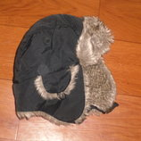 теплая зимняя шапка на Ог 50-52