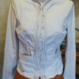 Ветровка куртка женская светло-бежевая Josephine & Co Размер 38 S/M