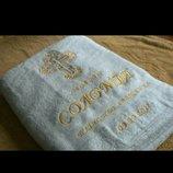 Крыжма полотенце для крещения с именем ребенка и датой крещения