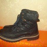 Ботинки 42р Landrover кожа
