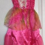 Платье карнавальное барби - русалочка Barbie на 5-6 лет
