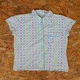 домашняя рубашка, р-р S-M, блуза, блузка