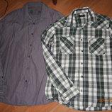 Рубашки мужские M-Л размера.