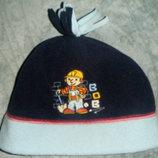 Боб строитель шарф и шапка флис Bob the builder