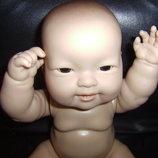 Миленький толстенький младенец девочка BERENGUER Испания клеймо оригинал 36 см