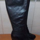 Стильные зимние сапоги для девушки, 38 размер