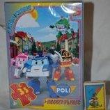 Пазлы картонные 70 элементов формат А4 Робокар Полли Постер
