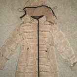 Пальто-курточка для девочки.Зима-демисезон..