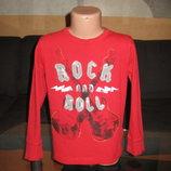 Лонгслив Rock & Roll,5-7 лет.