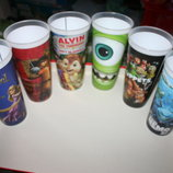 Пластиковые стаканы с героями любимых мультиков