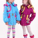 Курточки для девочек Марта 104, 110, 116 в наличии разные ЦВЕТА