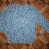 На 5-6 лет Теплый свитер девочке