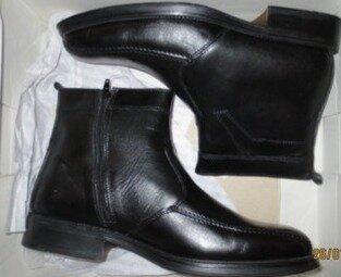 Фирменные ботинки мужские зимние,кожа р-ры 43,45