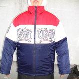 Куртка на мальчика на зиму размер 152,160