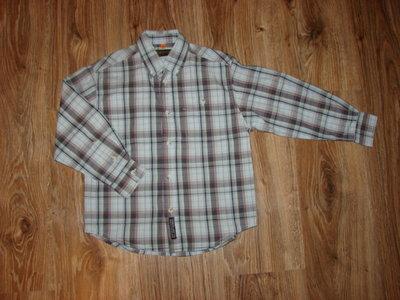 Рубашка Next на 6-7 лет с длинным рукавом