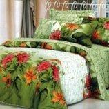 Комплект постельного белья сатин Wonderline 180х220