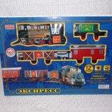 Железная дорога Экспресс 12 элементов свет звук