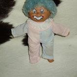 Шикарный кукла клоун-барбарик из Швейцарии 22 см